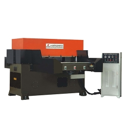 Automatic sliding table type precise four column cutting machine