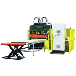 EVA soles automatic die cutting, stacking production line