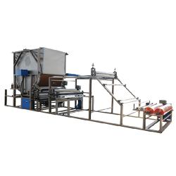High efficiency energy-saving mesh belt compound machine
