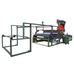 Horizontal net belt laminating machine