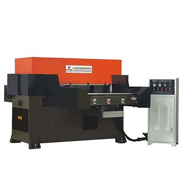 Single slide precision four-column cutting machine