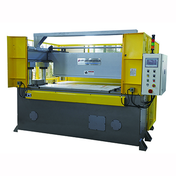 Rear beam type four-column cutting machine