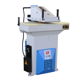 Swing arm clicker press