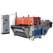 Automatic conveying belt type precision four column cutting machine
