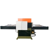 Double-sided slide precision four-column cutting machine