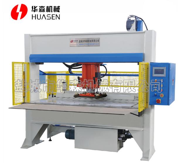 Gantry movable head type cutting machine